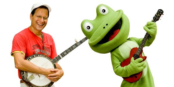 Tykes Tuesday: The Bossy Frog Band at Palisades Center