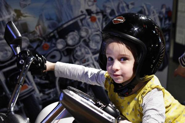 Traveling Exhibit: Hands-On Harley-Davidson™ at Long Island Children's Museum