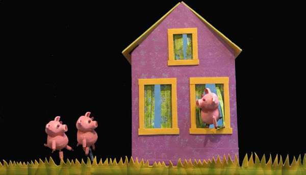 'The Three Pigs Build a Better House' at Goat on a Boat at Bay Street Theater