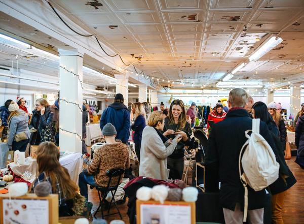 2019 NY Handmade Collective's Holiday Handmade Cavalcade at Brooklyn Historical Society