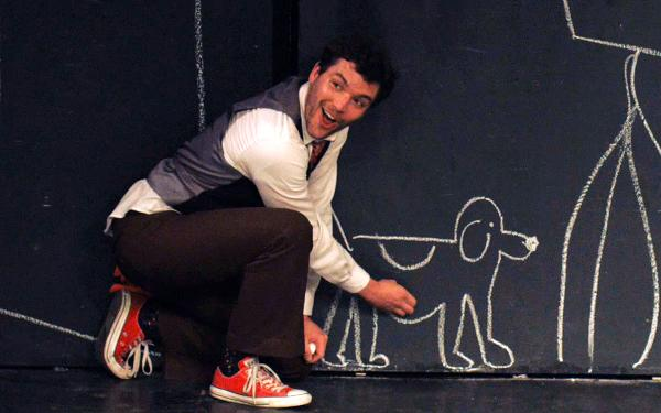 CHALK (A SILENT COMEDY.) at The Kraine Theater