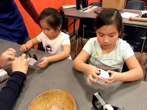 Family Studio: Science at Hudson River Museum