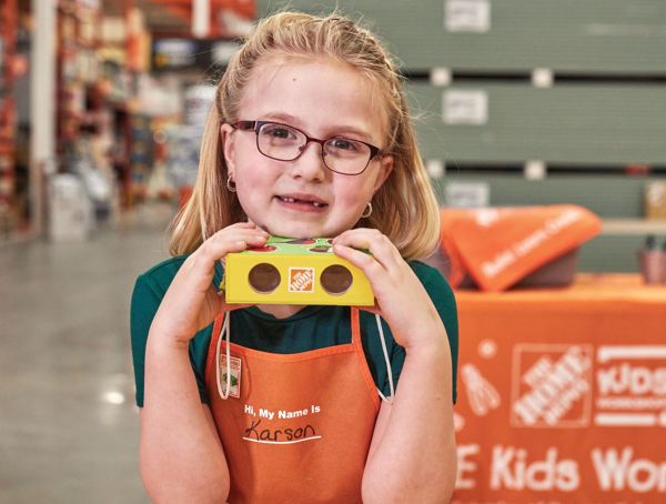 Binoculars at Home Depot