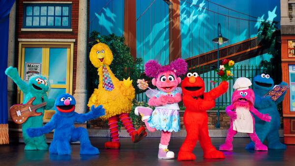 Sesame Street Live! Make Your Magic at New Jersey Performing Arts Center