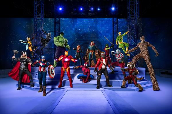 'Marvel Universe Live! Age of Heroes' at Barclays Center