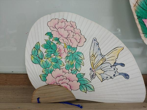 Minhwa Hand Fan Making at Flushing Town Hall