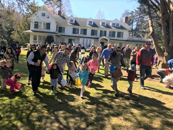Annual Egg Hunt at Bailey Arboretum