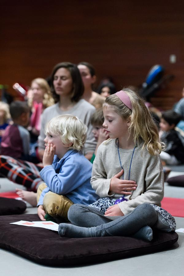Mindfulness for Families at The Rubin Museum