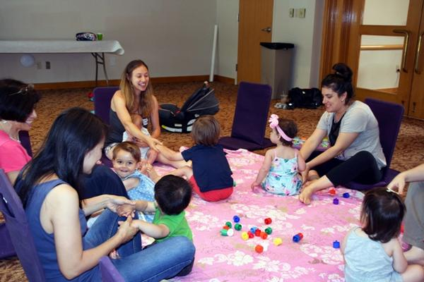 Itsy Bitsy Playgroup at Temple Sholom