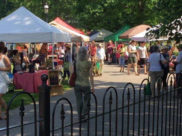 TaSH Farmers' Market at Patriots Park