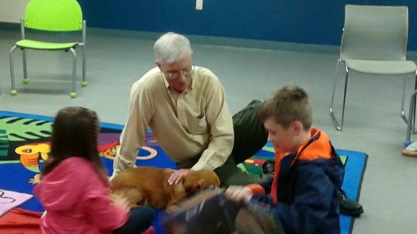 Tales to Tails at Rockville Centre Library