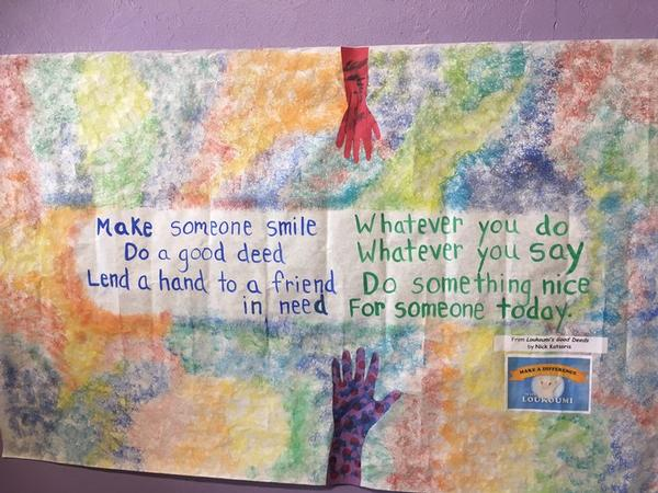 Good Deed of the Month Club at Westchester Children's Museum