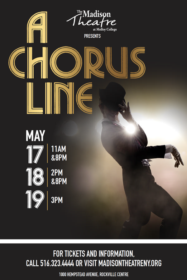 'A Chorus Line' at The Madison Theatre at Molloy College
