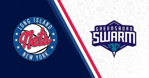 Long Island Nets vs. Greensboro Swarm at NYCB LIVE