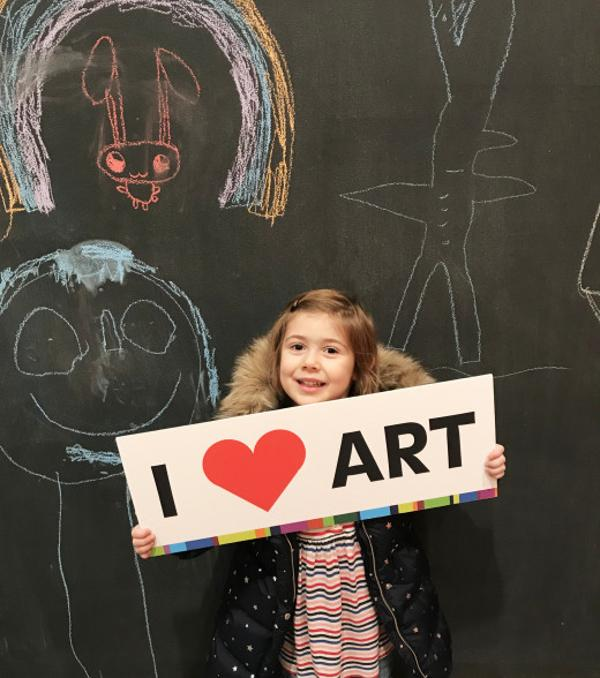 Art Making Studio for Preschoolers at Neuberger Museum of Art