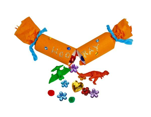 Free Crafts for Kids: Pop into the Holidays! Party Cracker at Lakeshore Learning Store