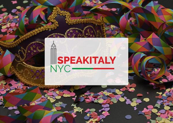 ONLINE Italian Masquerade Carnevale Workshop at Speakitaly NYC