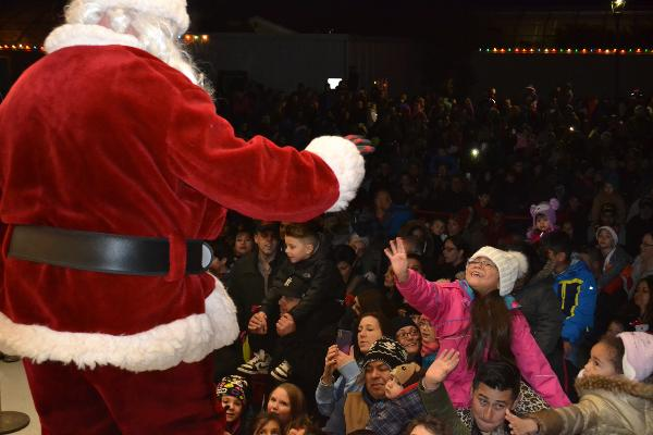 Annual Brookhaven Town Tree Lighting at Holtsville Ecology Site