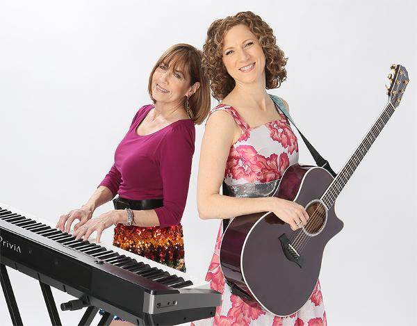 Laurie Berkner with Susie Lampert in a Holiday Celebration Concert at The Paramount