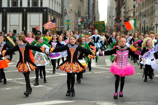 2020 New York City Saint Patrick's Day Parade at Fifth Avenue