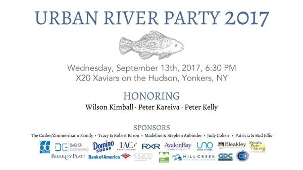 Urban River Party 2017 at X20 Xaviar's on the Hudson