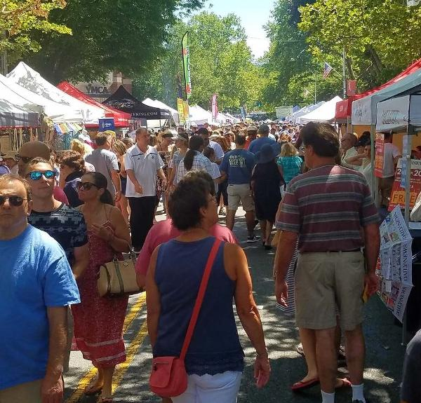 Nyack Famous Street Fair at Downtown Main Street & Broadway