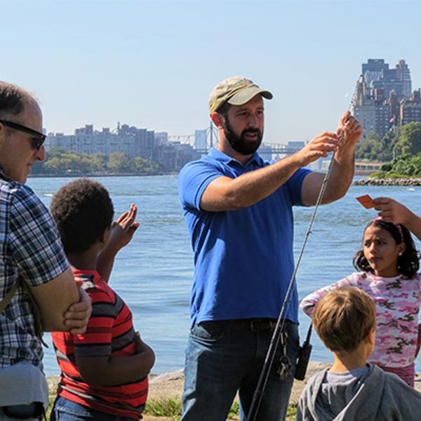 Get Hooked Fishing Festival at Randall's Island Park Alliance
