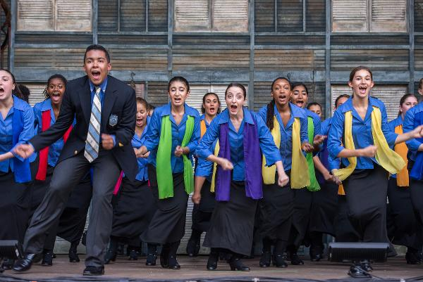 Free Performance by Young People's Chorus of New York City at Marcus Garvey Park at Richard Rodgers Amphitheater at Marcus Garvey Park