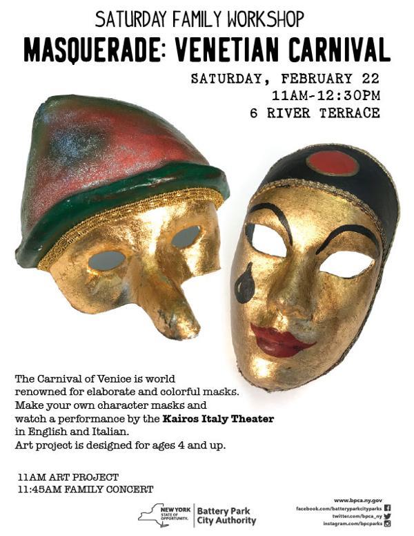 Masquerade: Venetian Carnival at 6 River Terrace