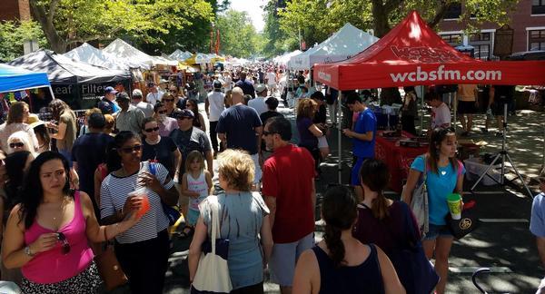 Nyack Famous Street Fair at Downtown Main Street and Broadway