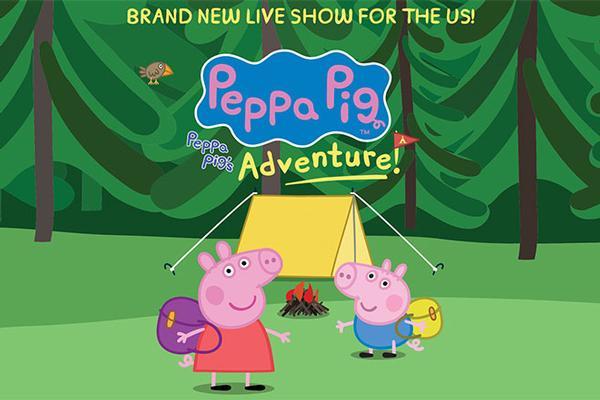 Peppa Pig Live! Peppa's Big Adventure at Mayo Performing Arts Center