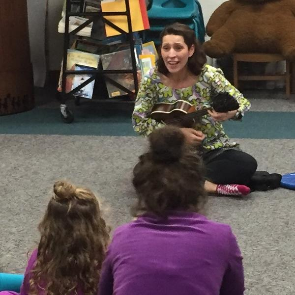 Story Garden with Miss Alexia at The Field Library