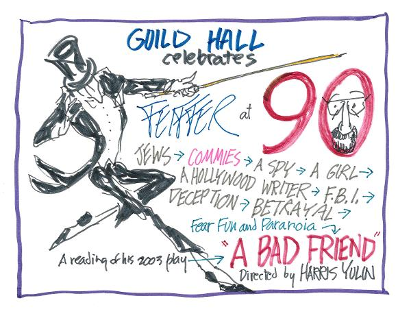 A Jules Feiffer Celebration at Guild Hall