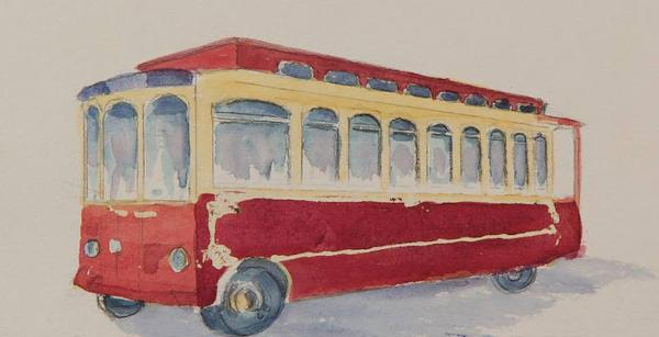 Rivertowns Holiday Trolley at Dobbs Ferry