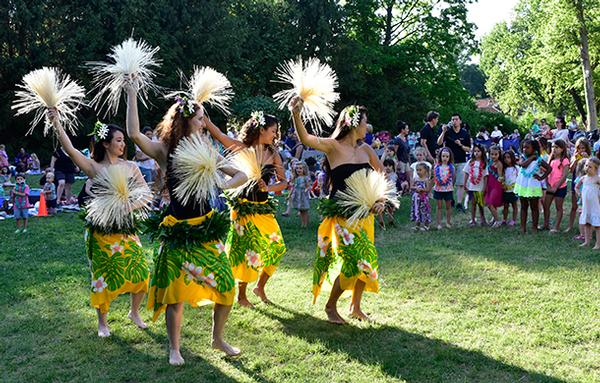 Dancing at Dusk: Lei Pasifika at Caramoor Center for Music and the Arts