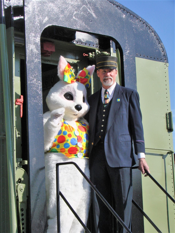 Ride a Vintage Train to Visit the Easter Bunny at Danbury Railway Museum