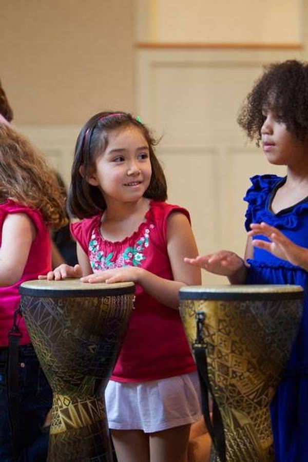 Rhythm Kids by Music Together Demo Class at Not Just Art