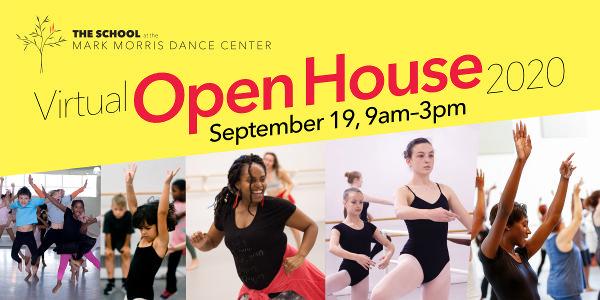 ONLINE Virtual Open House 2020 at Mark Morris Dance Center