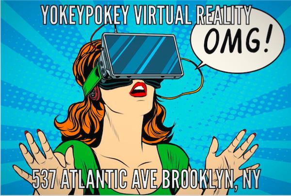 Virtual Reality Gaming and Cinema Experiences at YokeyPokey Virtual Reality Club