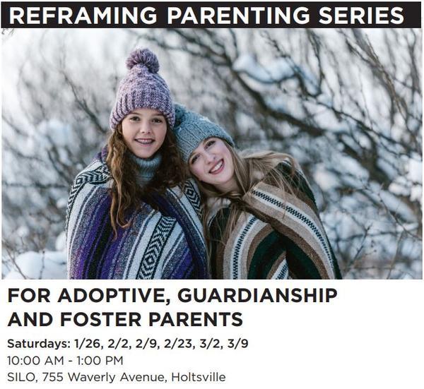 Reframing Parenting; Suffolk Winter Series at Suffolk Independent Living Organization