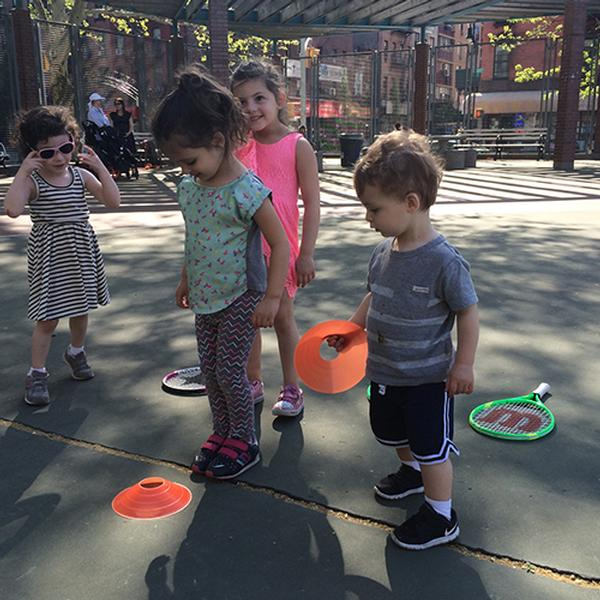 Tiny Tot Tennis at SPARK by Brooklyn Children's Museum