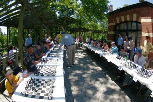 Central Park Conservancy's Chess Lecture and Simul Series at Chess & Checkers House