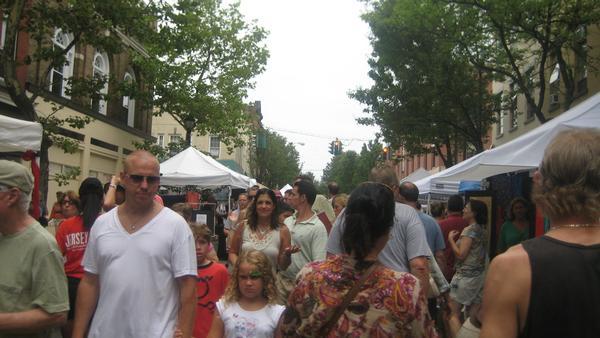 Nyack Famous Street Fair at Downtown Nyack
