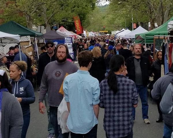 Nyack Famous Street Fair at Downtown Nyack