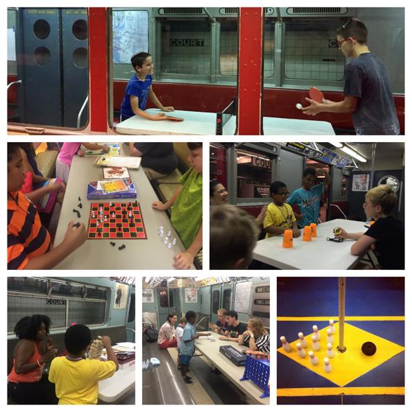 Subway Shindig for Families: Subway Got Game! at New York Transit Museum