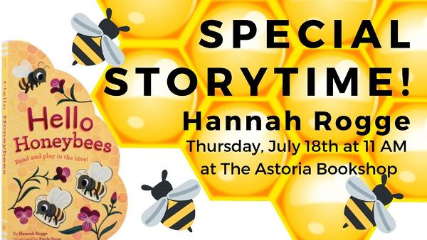 Special Storytime! Hannah Rogge at The Astoria Bookshop