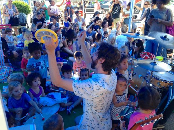 FAB Friday Kids' Concerts at Crispus Attucks Playground