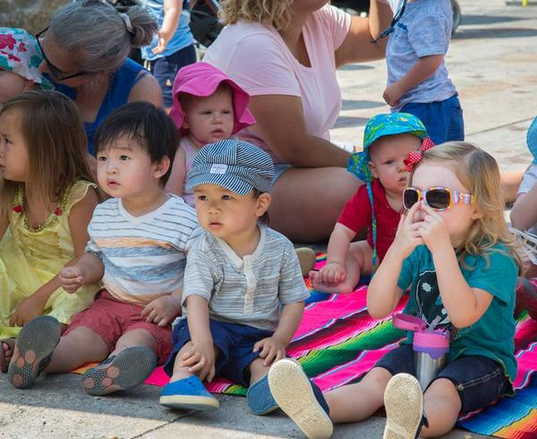 Summer Reading Storytime at Granite Terrace at Brooklyn Bridge Park, Pier 3