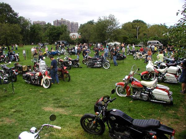 39th Annual Antique Motorcycle Show at Queens County Farm Museum