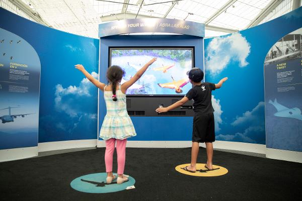 Above and Beyond – The Ultimate Flight Exhibition at New York Hall of Science
